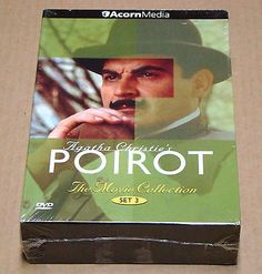 awesome Agatha Christie's Poirot The Movie Collection - Set 3 (DVD 2009 3-Disc Set) - For Sale