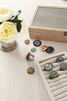 Button Rings  - CountryLiving.com