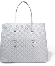Alaia Arabesque Studded Leather Tote