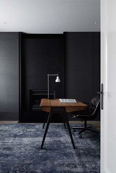Home office in a Hopetoun Road Residence by B.E Architecture