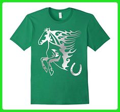 Mens Men Women Kids Horse T-shirt 2XL Kelly Green - Animal shirts (*Amazon Partner-Link)