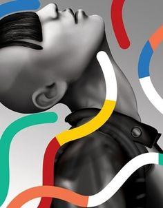 Dan Stafford color for design Creative Box, Glitch Art, Love Illustration, Zoom Photo, High Art, Art For Art Sake, Modern Artists, Illustrator Tutorials, Modern Graphic Design