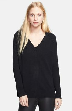 autumn cashmere V-Neck Cashmere Sweater   Nordstrom