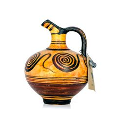 Take Greek history home! Hand made Greek vase from Minoan period. Visit our site www. Knossos Palace, Greek History, Minoan, Ancient Greek, Vases, Period, Museum, Handmade, Gifts