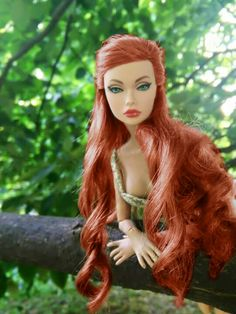 Spicy in Spain Parker Parker Fashion Royalty Dolls, Fashion Dolls, Pretty Dolls, Beautiful Dolls, Sunset Hair, Poppy Doll, That Poppy, Bad Barbie, Burlesque