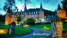 Con @ScotlandTrips puedes #dormir en un #palacio de #cuento como este en #Escocia  With #ScotlandTrips you #can #sleep in a #tale #palace like this in #Scotland.  #Scottish #Escoces #Escocesa #novela #escritores #writes #hadas #duendes #noche #nigth #walk #holidays #Vacaciones #elfo #elf #accommodation #luxury #lujo #novel #History #Historia #castle #Castillo