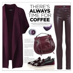 """""""Time for Coffee"""" by amchavesj-1 ❤ liked on Polyvore featuring Lands' End, Paige Denim, Shiseido, By Terry, MariaMare, Rebecca Minkoff, CoffeeDate and plus size clothing"""