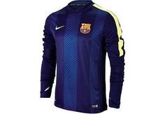Nike Barcelona Thermal Training Top - Loyal Blue