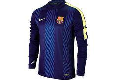 Nike Barcelona Thermal Training Top - Loyal Blue