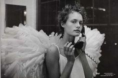Peter Lindbergh, Amber Valletta, Harper's Bazaar, December 1993