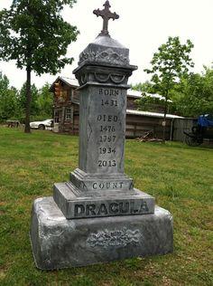 Static: Dracula Tombstone