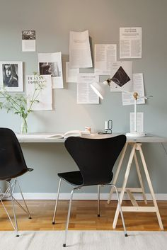 Recent Media and Comments in Home office - Modern Furniture, Home Designs & Decoration Ideas Home Office Space, Office Workspace, Home Office Design, Home Office Decor, House Design, Home Decor, Office Designs, Desk Space, Workspace Inspiration