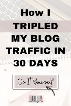5 simple things I did that tripled my blog page views in ONE MONTH! See my crazy simple formula and do it for yourself. Make Money Blogging, How To Make Money, How To Get, Starting An Etsy Business, Thing 1, Work From Home Tips, Blog Page, Best Blogs, Free Blog