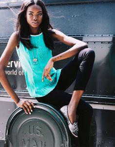 Maria Borges from Luanda, Angola