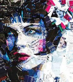 magazine+recycled+art.jpg 441×500 píxeles