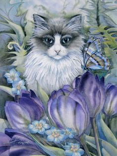 Art from Jody Bergsma. Source: http://www.bergsma.tv/for-the-love-of-kitties-how-to-paint-a-cat-and-12-off-online-sale-till-the-8th/787/ —