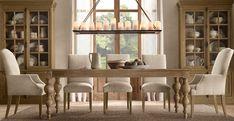restoration hardware dining room | Coordinately Yours, by Julie Blanner | Entertaining & Design Blog that ...
