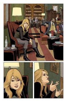 Valiant Comics Preview: The Valiant #1 By Jeff Lemire, Matt Kindt and Paolo Rivera - W.B.