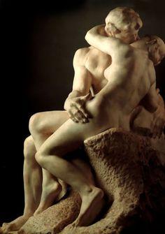 The Kiss byAuguste Rodin, 1886