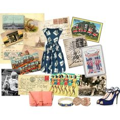 Around the World in 80 Days, created by drappa on Polyvore
