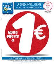 """VolantinoFacile - Volantino """"tante offerte a 1 euro"""" eurospin - sicilia dal 15 al 21 maggio - Pagina 10-11"""
