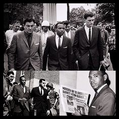 FEED | Websta - get1later On this day (1962) U.S. marshals escorted James Meredith, a nine-year U.S. Air Force veteran, onto the campus of the University of Mississippi in Oxford as the school's first African-American student. His admission triggered several days of racial violence before being quelled by some 3,000 U.S. troops. #photogrid @photogridorg #BlackHistory #OleMiss #JamesMeredith #AirForce