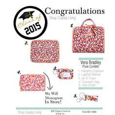 Vera Bradley Graduation Gifts Pixie Confetti