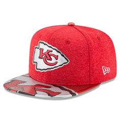 Kansas City Chiefs New Era 2017 NFL Draft On Stage Original Fit 9FIFTY  Snapback Cap e0817ce664f0