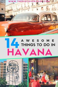 Havana is one of those places you should visit at least once! The capital of Cuba is brimming with architecture, culture, amazing food and a chilled out vibe. Looking for things to do in Havana? Cuban nights, party, bar, beach and food await. Read now. #travel #wanderlust #citybreak