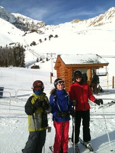 We love the bowl...something to ski for everyone!