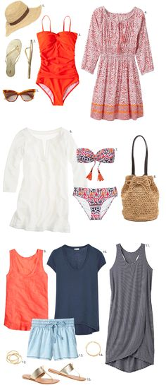 What to Wear for Your Labor Day Weekend at the Beach - Outfituation