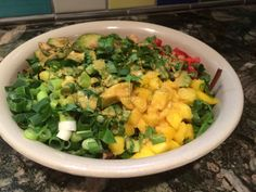 With a refreshing blend of flavors and textures, this salad can be easily doctored up to suit even the pickiest eater. The coconut curry dressing is sugar-free and D-E-LICIOUS! Everything you could want for a summer salad. Watch our video … Continue reading →