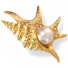 Paspaley South Sea Cultured Pearl Pelican''s Foot Brooch - http://www.wonderfulworldofjewelry.com/jewelry/brooches-pins/paspaley-south-sea-cultured-pearl-pelican3939s-foot-brooch-com/ - Your First Choice for Jewelry and Jewellery Accessories