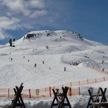 Blick auf den Skihang - Ausblick Bilder - Superior Hotel das Seekarhaus