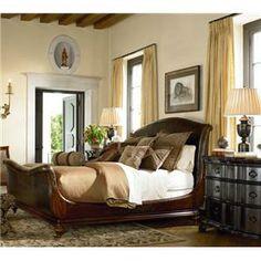 Current bed Thomasville Ernest Hemingway Kilimanjaro Bed