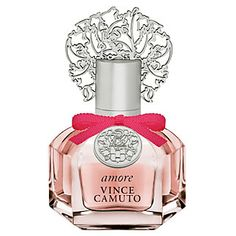 VINCE CAMUTO AMORE 3.4 OZ-Fall head over heels for the alluring limited-edition Amore fragrance from Vince Camuto. Our newest scent is inspired by undying passion and romance. Be the woman you wish in this sweet and tantalizing perfume. Fruity top notes mix with the organic smell of freshly picked flowers. A divine base of comforting cashmere, rich, sensual amber and earthy sandalwood warm up the intoxicating combination.