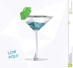 low-poly-martini-glass-file-eps-format-32725739.jpg (1389×1300)