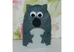 Felt finger puppets - Wombat Stew