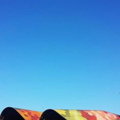 100% color: #celblau i #mercatdesantacaterina #Barcelona