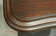 DIY:  Real Wood Look With Glaze - excellent tutorial! (The table in the pic started out white! Gorgeous results!)