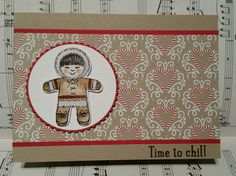 Love the bear image in Stampin' Up!'s Cookie Cutter Christmas ...