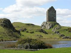 Smailholm Tower in the Scottish Borders