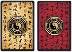 Yin Yang Premium Plastic Playing Cards (Bridge Size), Books & Gifts, Playing Cards, Peter Pauper Press
