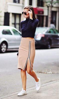 Moda Tendencias Looks Outfits Belleza: Sneakers
