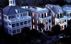 ***Historic Downtown at Night, Charleston, SC