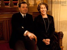 mr bates and mrs hughes downton abbey