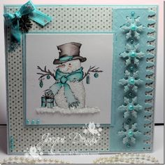 Welcome to Cats Whiskers: The Snowman – Lili of the Valley DT Card