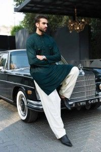 Latest Kurta Design 2016 for Men by House of Chenab