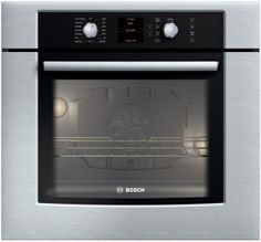"BOSCH  500 Series 30"" Single Wall Oven HBL5450UC - Stainless steel"