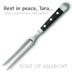 Sons of anarchy Tara fork